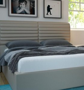 Кровати с мягкими изголовьями на заказ