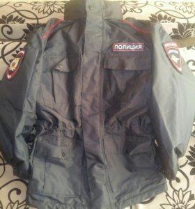 Демисезонная куртка Полиция