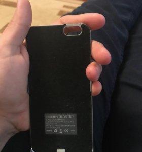 Чехол зарядник на Айфон 6,6s