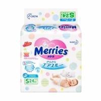 Подгузники Merries S (4-8 кг)