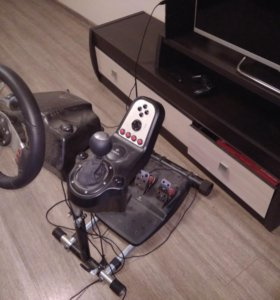 Руль Logitech g27+стойка wheel stand