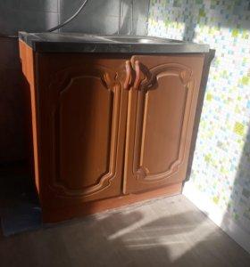 кухонная тумба с мойкой. 80см