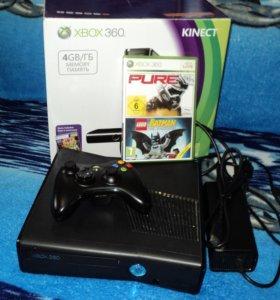 XBOX 360S + 2 игры