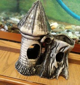 Замки для аквариума