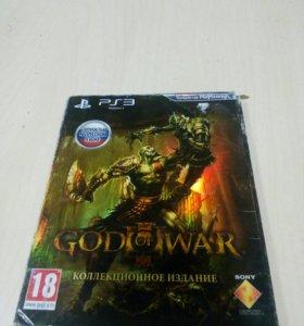 Колекционное издание God of war 3 для PS3