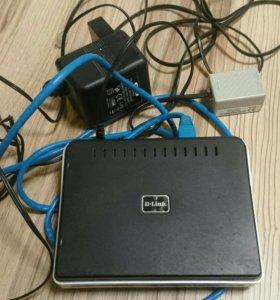 Wi-Fi точка доступа и DSL-роутер