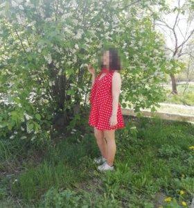 Платье средний размер