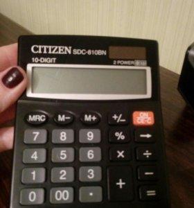 Калькулятор CITIZEN DSDS-810BN
