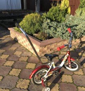 Велосипед с ручкой Orion