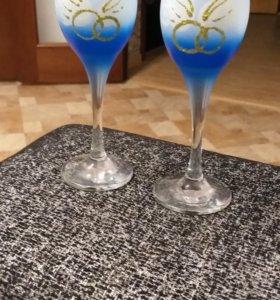Свадебные бокалы ( новые)