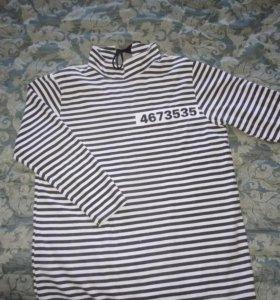 Рубашка для костюма зомби или заключенного