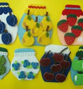 Дидактические материалы для детского сада