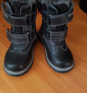 Новые! Ботинки зимние