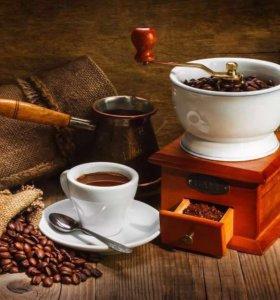 Кофе разной обжарки