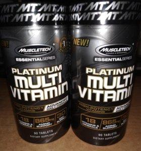 Спортивные витамины Muscletech