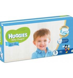 Подгузники Huggies Ultra Comfort для мальчиков 5