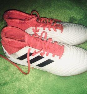 Футбольные бутсы Adidas Predator 18.3 FG