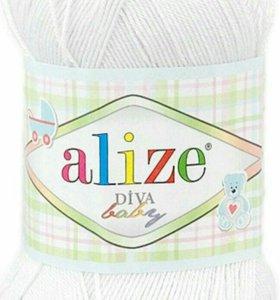 Пряжа Alize Diva baby