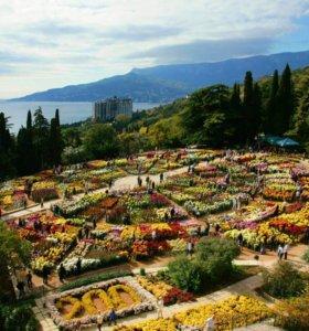 Поездка в Крым 2-5 ноября. Бал хризантем