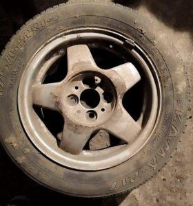 Диск r14 литье шина кама