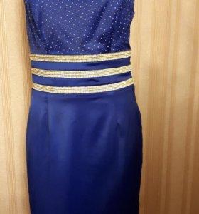 Платья синий