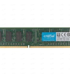Оперативная память CRUCIAL DDR3L 4Гб