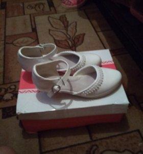 Туфли детские. Новые