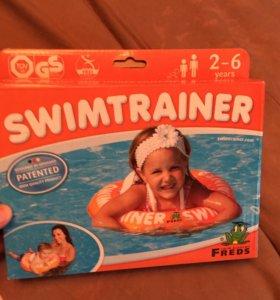 Круг для плавания swimtrainer 2-6 оранжевый