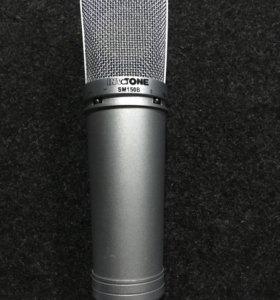 Студийный конденсаторный микрофон Invotone SM150B.