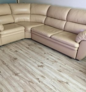 Продаю кожаный диван - кровать