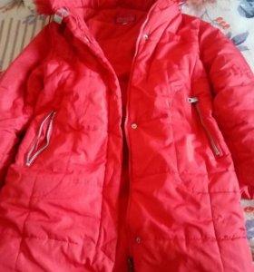 Куртка тёплая размер 140