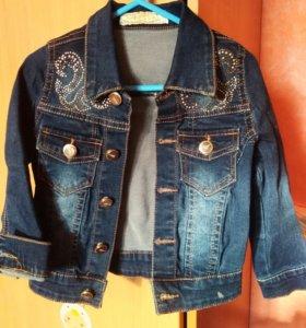 Курточка (пиджак) для девочки