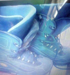 Для сноуборда ботинки 43-44р