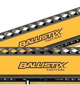 DDR3 2 x4 gb Crucial Ballistix Tactical 8Gb (pc-14