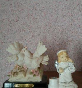 Голубки и ангелочек