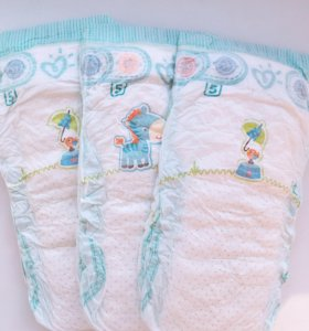 Pampers Active Baby Dry 5 104 штуки