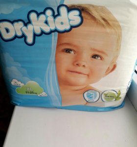 Подгузники Dry Kids 11-25 кг.