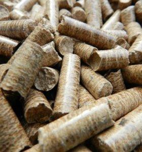 Пеллеты древесные серые