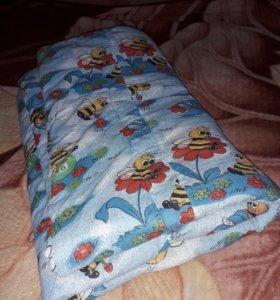 Одеяло детское теплое 115*120