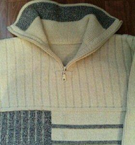Теплый мужской свитер / джемпер / кофта