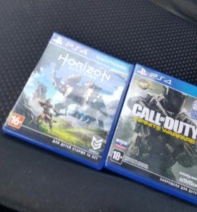 Диски на PS4.