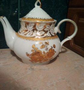 Чайник заварной чехия