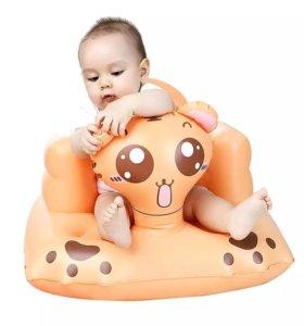 Новое надувное кресло для малыша