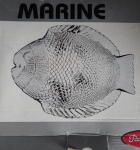 Набор тарелок для рыбных блюд.(8 шт)