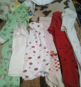 Одежда колготки и маечки