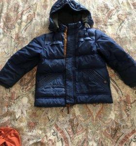 Куртка зимняя, ветровки