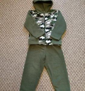 Флисовый костюм р.98