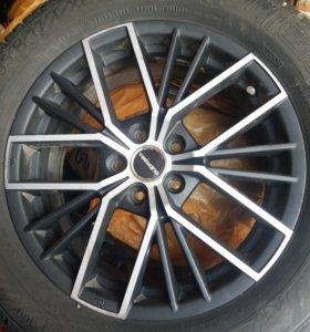 Зимние шины и диски.