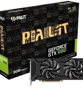 Игровая Видеокарта Palit 1060 3Gb