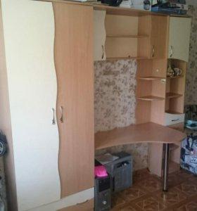 Стенка шкаф стол школьные